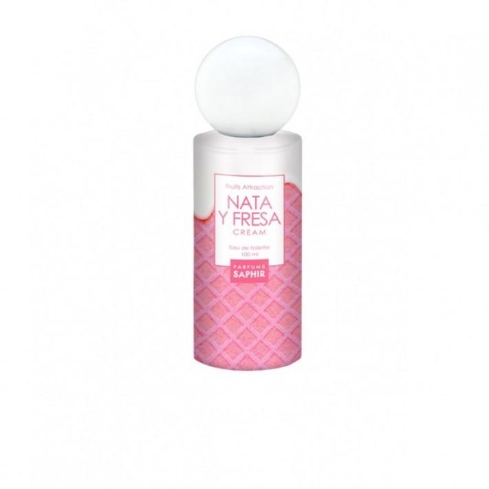 SAPHIR Woman EDT Nata y Fresa, 100 ml